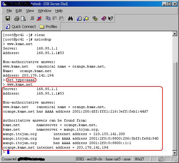 IPv6_2017: IPv6 Dns查詢